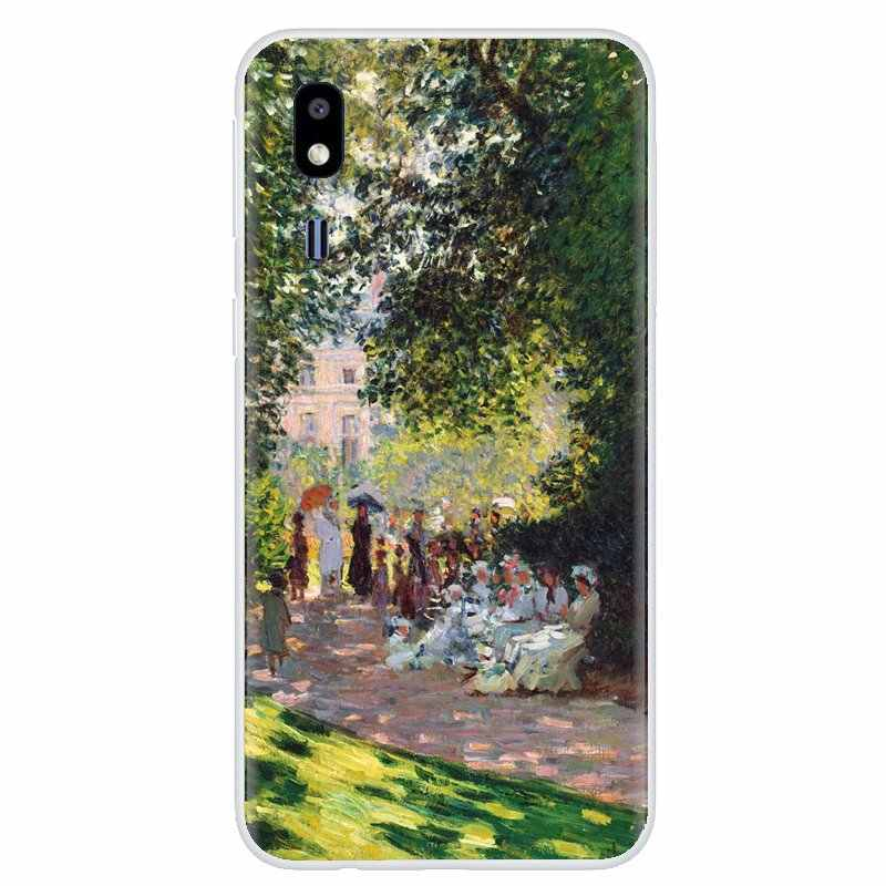 Claude Monet Impressionism French For iPhone 11 Pro 4 4S 5 5S SE 5C 6 6S 7 8 X XR XS Plus Max For iPod Touch Silicone Skin Cover