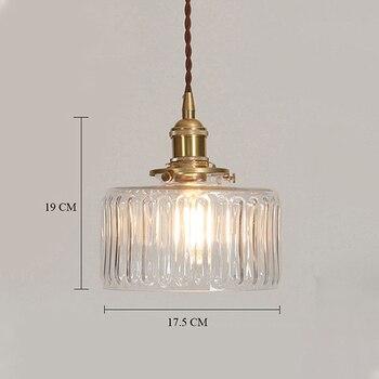 Φωτιστικό retro lamp glass ρετρό γυάλινο φωτιστικό σε διάφορα χρώματα