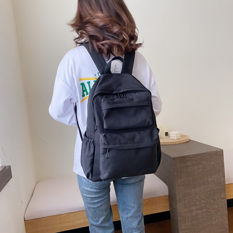 H1aad7fd741f64008b5e2c4933af74f41F - New Waterproof Nylon Backpack for Women Multi Pocket Travel Backpacks Female School Bag for Teenage Girls Dropshipping