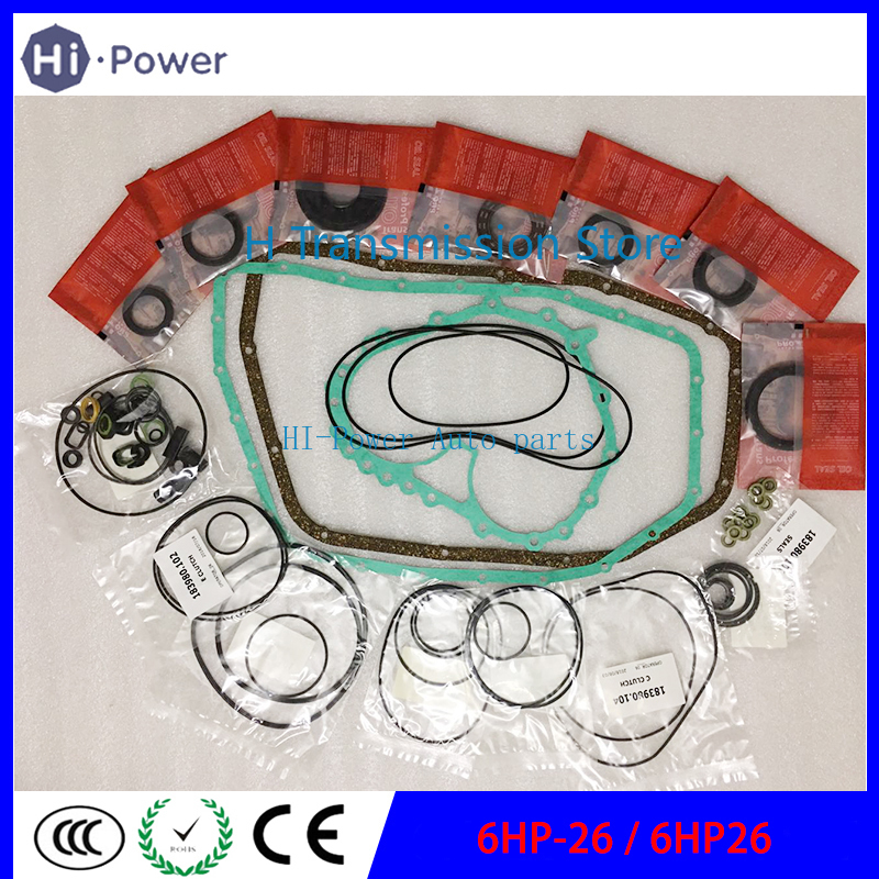6HP26 Gearbox ZF 6HP-26 Transmission Seal Overhaul Rebuild Kit For BMW Audi