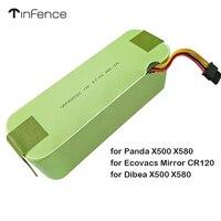 Tinfence Replacement battery for Panda X500 X580/Ecovacs NI MH SC14.4V 3500mAh Mirror CR120/Dibea X500 X580 Robotic vacuum