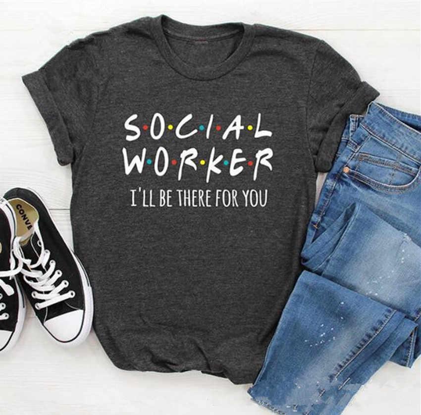 Femmes T Shirt lettre imprimé hauts t-shirts été 2019 nouveau gris Top femmes o-cou lâche t-shirt femme à manches courtes haut dame camiseta