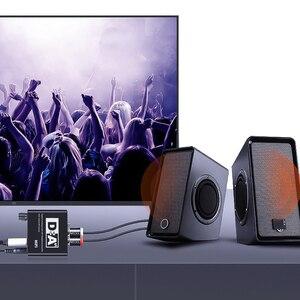 Image 5 - Caldecott Digital zu Analog Audio Adapter Konverter DAC Optische Toslink Koaxial Bi directional Schalter RCA 3,5mm Jack