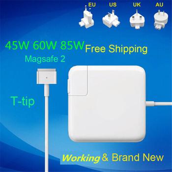 100 nowy 45W 60W 85W MagSaf * 2 t-tip Notebook laptopy zasilacz ładowarka do Apple Macbook Air Pro Retina 11 #8221 13 #8243 15 #8222 17 #8221 tanie i dobre opinie Knotolus CN (pochodzenie) 14 85-20V 3 05-4 6A Dla apple 45W-A1436 60W-A1435 85W-A1424 EU US UK AU 12 months For macbook air pro retina 11 13 15 17
