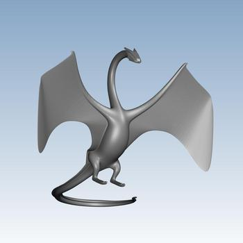 Flying dragon Custom order highqualityhighprecision digital models 3D printing service Classic objects ST2288
