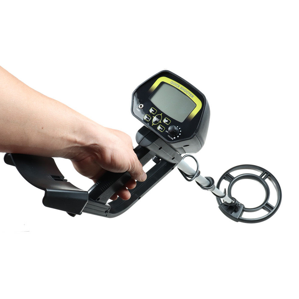 Professional Metal Detector Underground Gold Detector <font><b>MD</b></font>-<font><b>4060</b></font> Treasure Hunter LCD with Low Battery Indication Wiring Probing image
