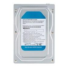 """Single Bay 2.5"""" to 3.5"""" Inch SATA Converter Adapter USB 3.0 External Hard Drive Enclosure Internal HDD & SSD Tray Caddy"""