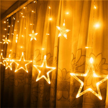 Curtain LED String Light 3M 96LEDs Star String Fariy Lights 8 modes Xmas light Holiday For Wedding/Party/Curtain/Garden Decor цена и фото