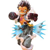 Anime One Piece Limited Ver Luffy Figures GK Gear Fourth Q Model Toys 20cm