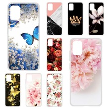 Phone Case For Samsung A51 Case Silicon Floral Painted Soft TPU Protective Bumper Coque For Samsung Galaxy A51 SM-A515F/DS Cover armor phone case for samsung galaxy a51 cover tpu