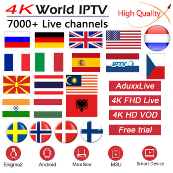 IPTV France Arabic Greek live vod 1 Year Code Canada USA America French Sweden Spain m3u hot xxx Portugal Android TV Box