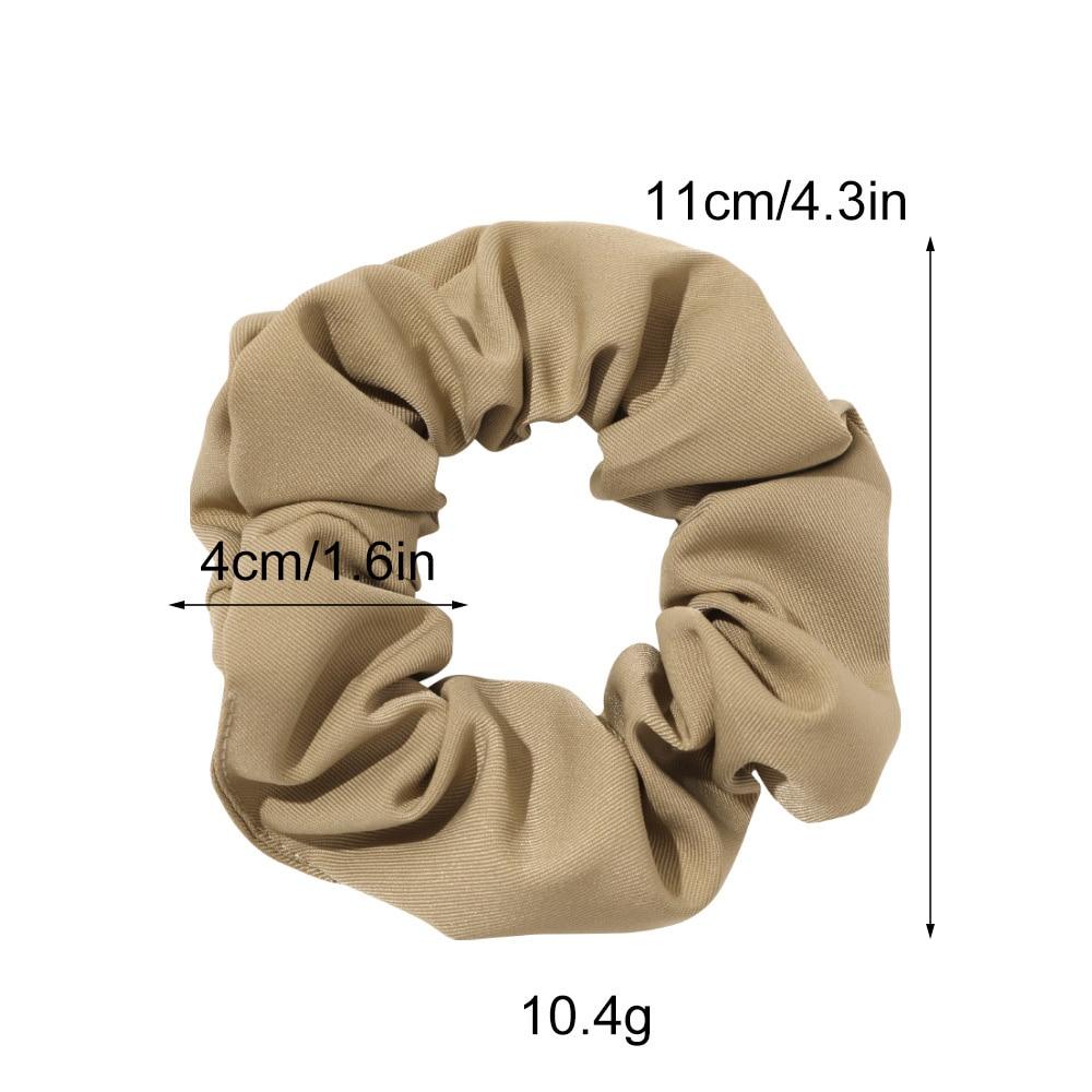 Полиэфирная эластичная резинка для волос женщин и девочек саржевая