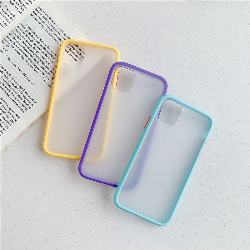 כיסוי סיליקון מאט עבור מכשירי iPhone 4