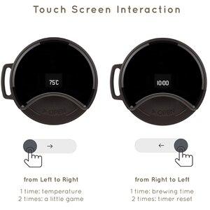 Image 2 - Xiaomi pocałunek pocałunek ryby Moka ze inteligentny kubek kawy termiczna próżniowa butelka wody App Rmote kontroli wrażliwy czujnik temperatury