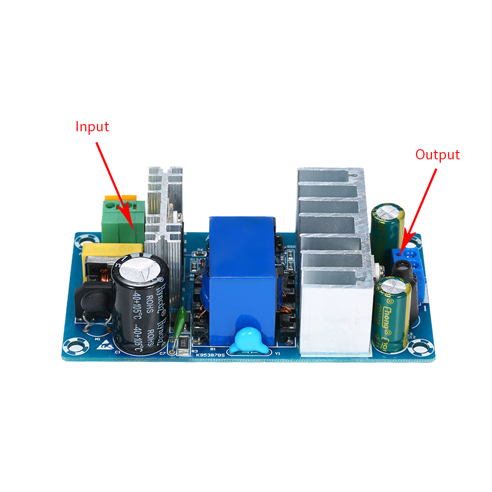 AC 85-265V to DC 24V 4A-6A Power Supply Module Switching Board for Arduino