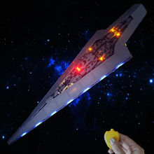 lepinbricks remote control LED Light Set For 05028 Super Star Destroyer wars Compatible with 10221 Building blocks  Toy Gifts lepin 05027 the imperial executor super star destroyer wars starship set 10030 building blocks bricks children toy legoinglys
