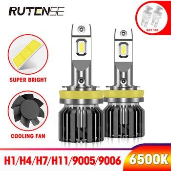 super bright H4 led headlight h7 h11 h8 h9 h1 9005 hb3 9006 hb4 9012 hir2 auto h7 led car bulb headlamp lampada 12V 24V 6500K 2X super bright h7 mini led headlight bulbs h4 h1 h11 h8 h9 9005 hb3 h10 9006 hb4 9012 hir2 hi lo beam auto headlamp light canbus