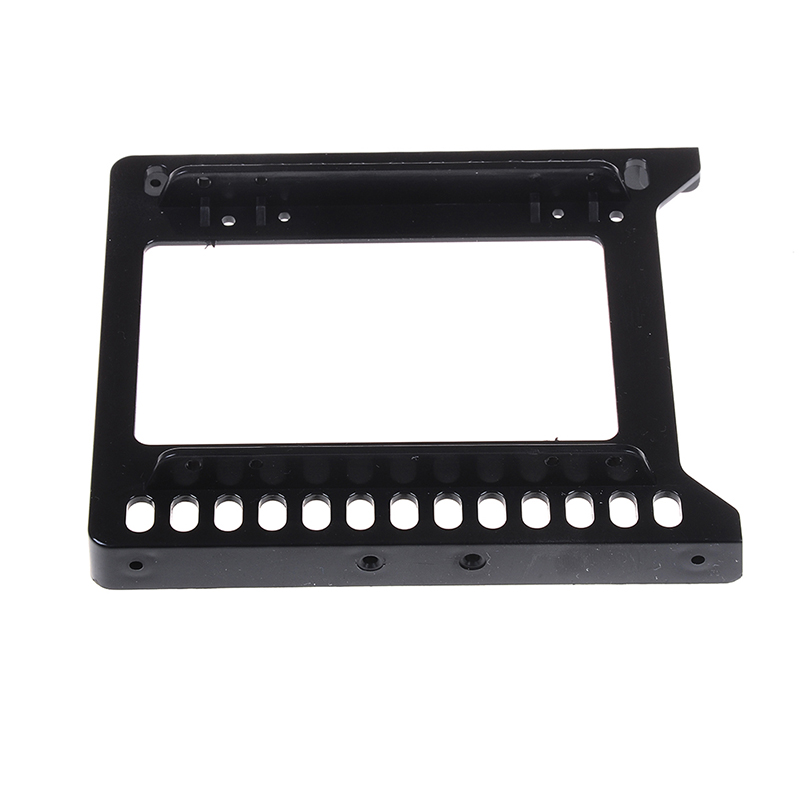 "Adapter 2.5"" To 3.5"" Hard Drive Plastic Bracket HDD Holder Mounting SSD Black"