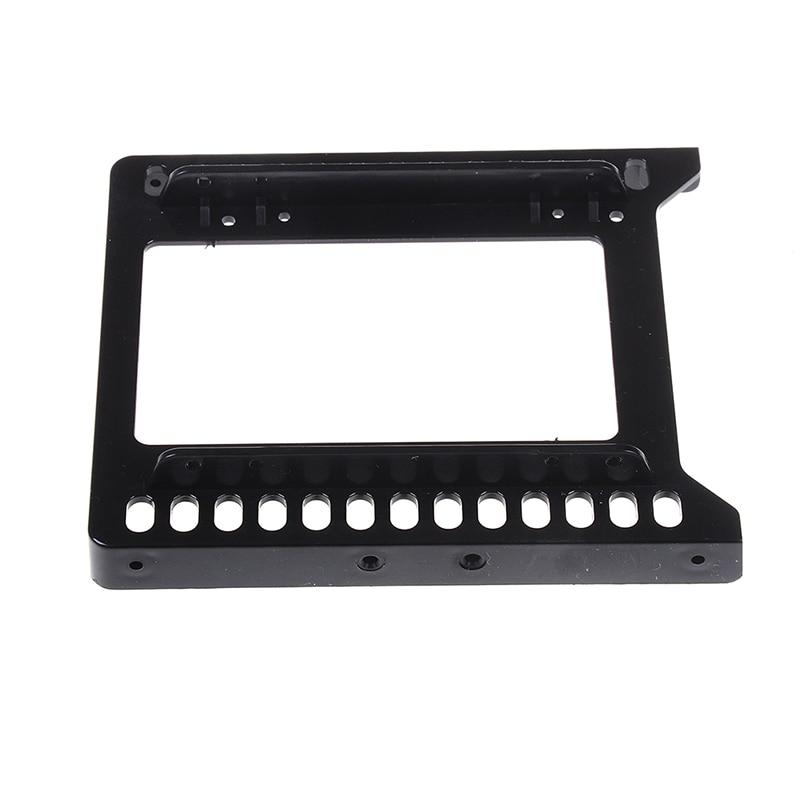 Адаптер для жесткого диска 2,5 дюйма до 3,5 дюйма, пластиковый кронштейн, держатель для жесткого диска, черный монтажный SSD