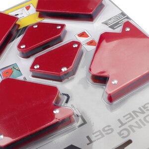 Image 3 - 6 sztuk/zestaw trójkąt pozycjoner spawalniczy magnetyczny stały kąt lutowania lokalizator narzędzie bez przełącznika akcesoria spawalnicze