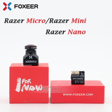 Foxeer Razer Mini 2.1 Mm/Razer Micro 1.8 Mm/Razer Nano /1200TVL Pal Ntsc 43 169 Fpv camera Met Natuurlijke Afbeelding Voor Rc Fpv