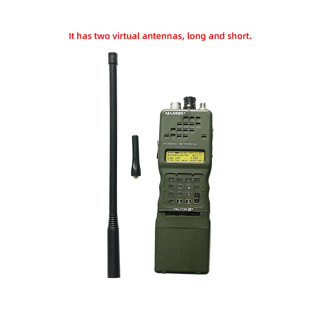 AN/PRC-152 Tactical Harris Military Radio Comunicador Case Model Dummy PRC 152 ,no Function