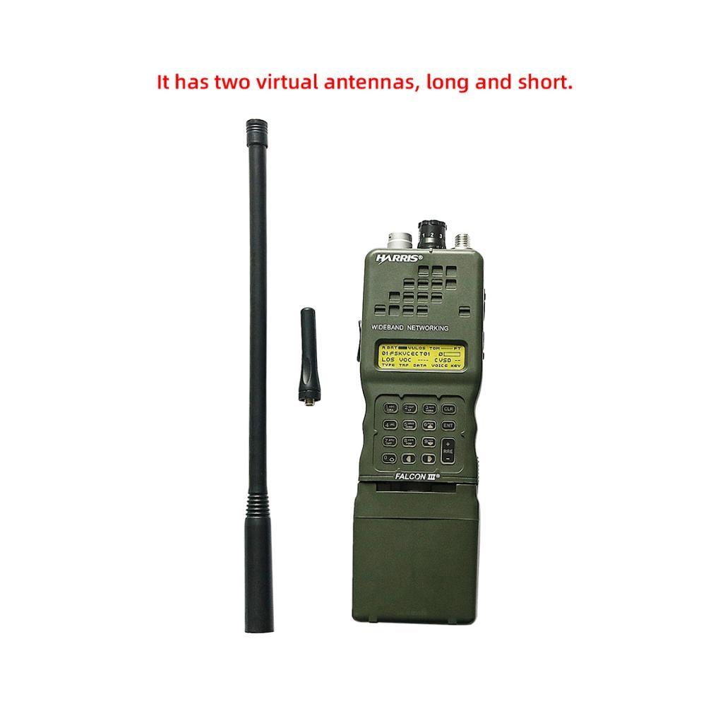 AN/PRC-152 Tactical Harris Military Radio Comunicador Case Model Dummy PRC 152 ?no function