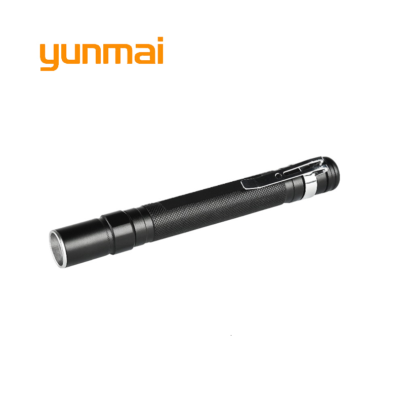 Yunmai Portable Mini Pocket Penlight NEW Q5 LED Flashlight Torch Working Inspection Light 1 Mode Outdoor Camping Lighting
