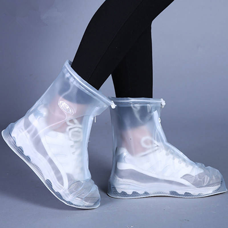 Лидер продаж, нескользящая износостойкая Толстая Водонепроницаемая Крышка для обуви, защита от снега, грязи, дождя и снега