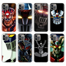 Erilles Mazinger Z Nieuwe Stijlvolle Telefoon Case Voor Apple Iphone 5 5S Se 6 6S 7 8 Plus 10 11 Pro X Xs Max Xr Telefoon Case Cover(China)
