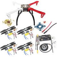 F450 PCB Rahmen Kit Mit XXD A2212 1000KV Motor & 30A ESC & 1045 Requisiten & APM 2,8 Flight Controller & 7MGPS Combo Für Rc Quadcopter
