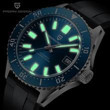 Pagani design masculino relógio mecânico automático moda negócios 100m à prova dwaterproof água safira vidro dos homens relógio nh35a movimento