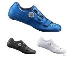 SH-RC500 buty szosowe rowerowe obuwie obuwie RC500 tanie tanio RUBBER Skórzane Dla dorosłych Oddychające Buty rowerowe Syntetyczny Średnie (b m) Hook loop SHIMANO