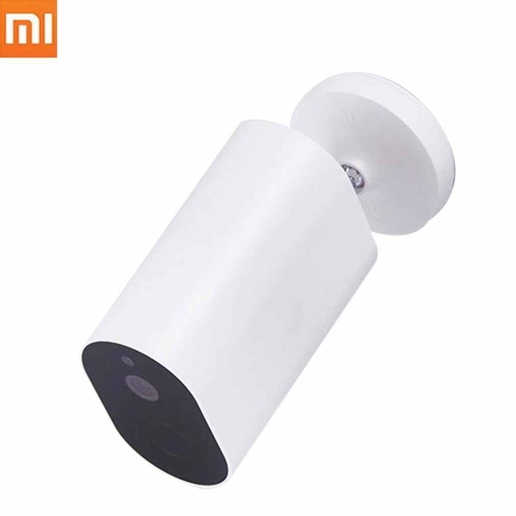 Original Xiaomi Mijia Smart Camera Battery Gateway 1080P AI Humanoid Detection F2.6 IP 360 IP65 Waterproof Wireless Cameras Cam