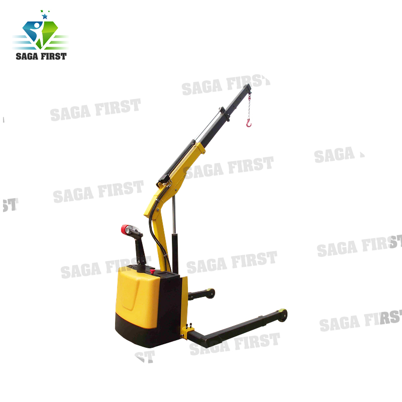 Electric Moving Counter Balanced Engine Stand Shop Crane