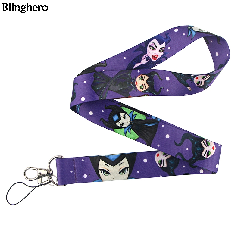 Blinghero Cartoon Neck Strap Queen Lanyard For Phone Keys Strap Lanyard With Camera Fashion ID Badge Holder Gift ZC0213