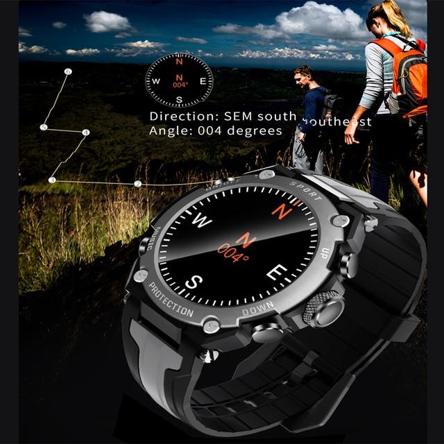 New Smart watch Men Music Play IP68 Waterproof 1.3 inch Sport Digital Men Watch,Compass & weather Smartwatch For ios Android 5