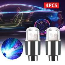 4 шт светодиодный авто подсветка для колес автомобиля Колеса