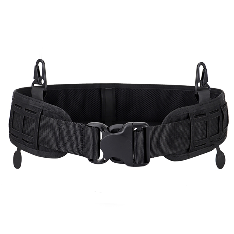 H1ab1606ca1fc450ea8cc6e68b70ce228y - Tactical Waist Belt Water Resistant Adjustable Training Waistband Support For Molle System