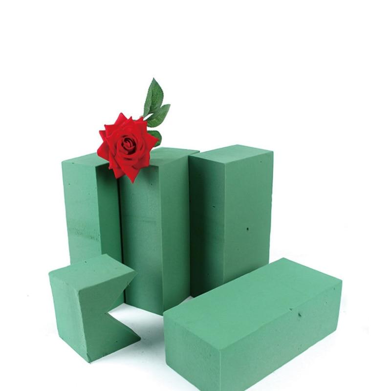 Home Garden Floral Foam Block Flower Styrofoam Brick Wedding Flower Holder Artificial Handle Rudisbakery Com