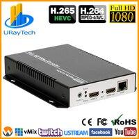 H.264/avc + mjpeg codificação hdmi codificador iptv transmissão ao vivo rtmp streaming codificador rtsp para rtmp transcoder suporte 1080p 1080i