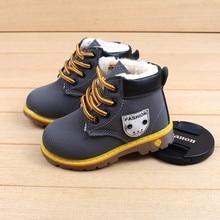 Детские ботинки; обувь для маленьких девочек и мальчиков; зимние ботинки; Детские теплые кроссовки; зимние ботинки; детская обувь