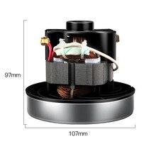 220V 800w universal staubsauger motor teile 107mm durchmesser von haushalts staubsauger für Midea QW12T 05A QW12T 05E motor