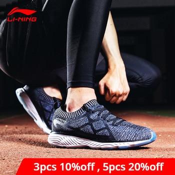 Li-Ning Men LN CLOUD III 2018 Running Shoes Breathable Cushion LiNing li ning Mono Yarn Sport Shoes Sneakers ARHN023 XYP665