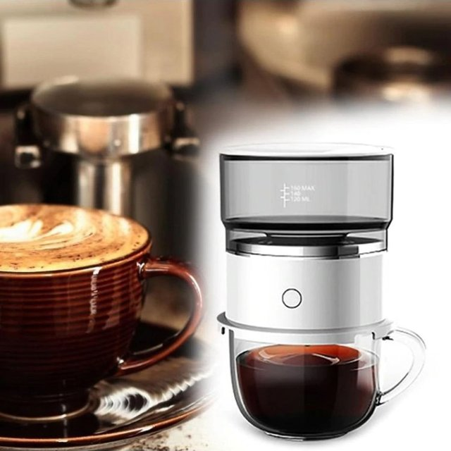 Push Button Coffee Maker 4