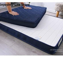 Natural  Latex Mattress Single Double Size 9cm and 5cm Memory Foam Filling Stereoscopic Student Dormitory Tatami Beds