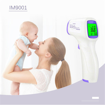 Non-contact Forehead Thermometer Infrared Thermometer LCD Digital Baby Termometro Digital Ear Non-contact Infrared Thermometer