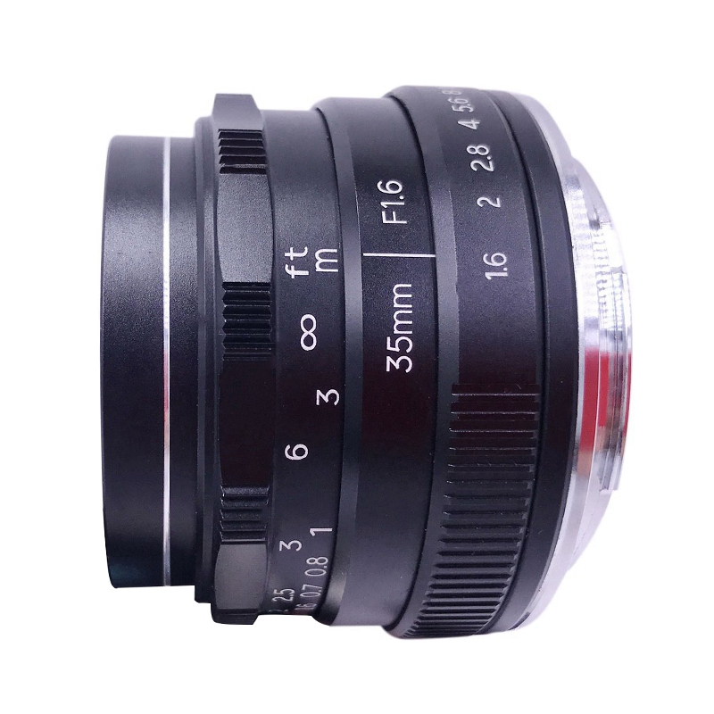 NEWYI 35mm F/1.6 Manual Focus MF Prime Lens for Nikon Z Mount Camera