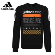 Oryginalny nowy nabytek Adidas NEO etykiety CS G BBL SWT męskie swetry koszulki odzież sportowa tanie tanio Pasuje prawda na wymiar weź swój normalny rozmiar Oddychające