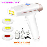 Lescolton 2in 1 IPL Epilator Laser Hair Removal Machine Parmanent Hair Removal Armpit Bikini Trimmer Electric Depilador a Laser
